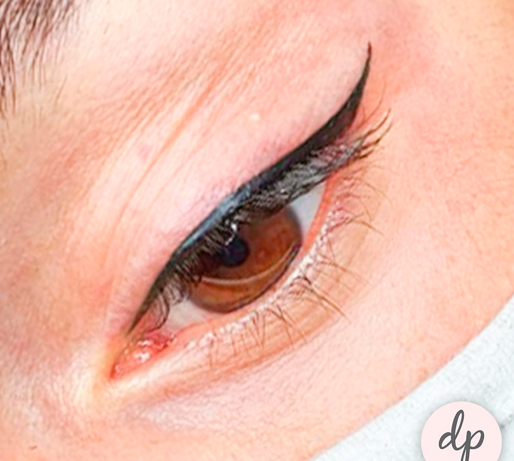 DP Academy secret eyeliner